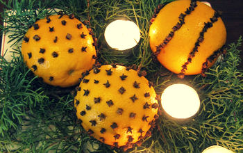 Orange Pomanders & the Scents of Christmas