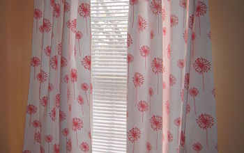 DIY No-Sew Custom Curtains