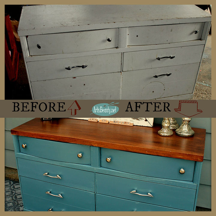 Paint Makeover Ideas For French Blue Dresser Bedroom Diy Home Decor