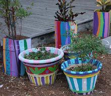school garden ideas, crafts, gardening