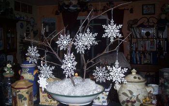 Winter Wonderland Centerpiece