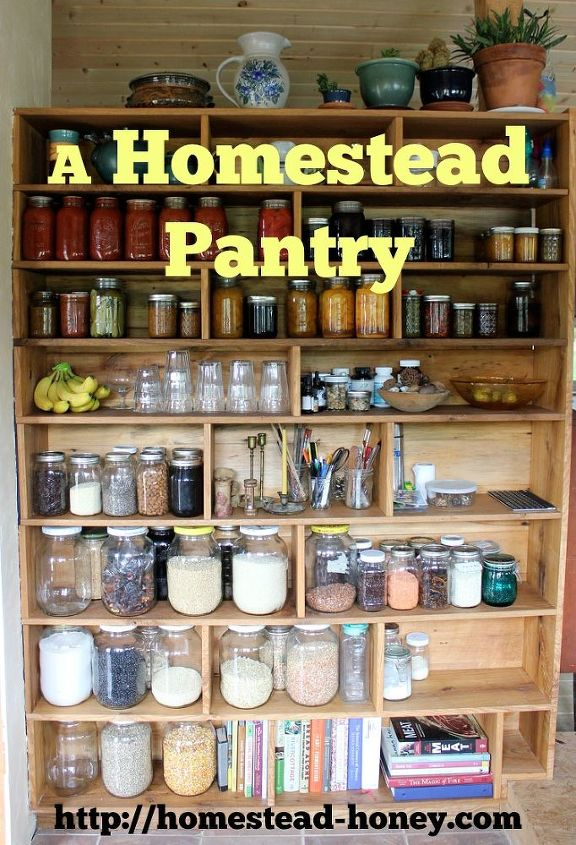 tips for a homestead pantry, closet, homesteading, kitchen design