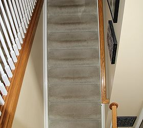 Change Carpeted Stairs To Wooden Stairs, Diy, Flooring, Hardwood Floors,  Stairs