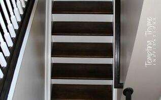change carpeted stairs to wooden stairs, diy, flooring, hardwood floors, stairs