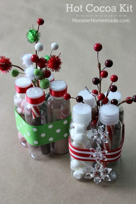 how to make the perfect hot cocoa kit gift crafts seasonal holiday decor