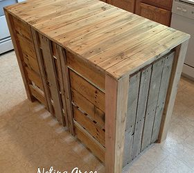 Great How To Make A Pallet Kitchen Island For Less Than 50 Dollars, Diy, Kitchen
