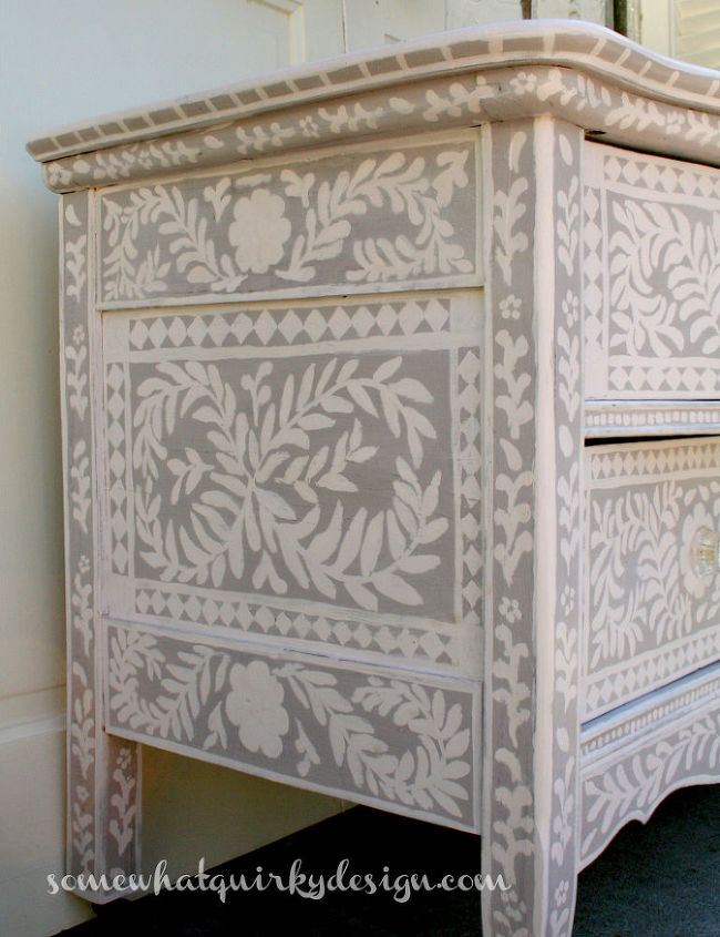 chalk paint furniture picturesHow To Create A Pearl Inlay Inspired Dresser  Hometalk