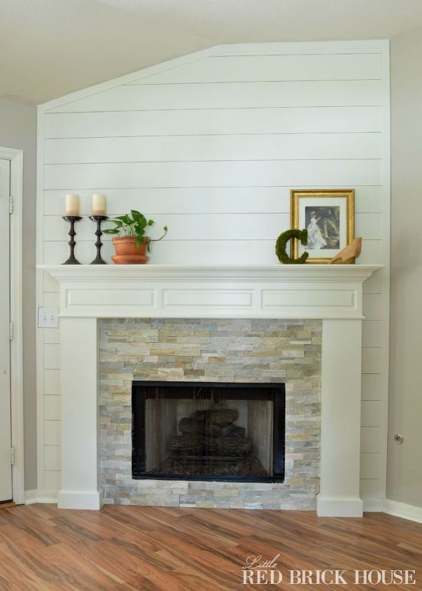 Fireplace Makeover Idea Diy Fireplaces Mantels Painting Woodworking Projects