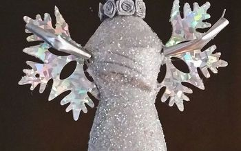 Create an Angel Tree Topper From a Recycled Plastic Bottle