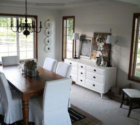 Rustic Modern Dining Room Decor Ideas, Dining Room Ideas, ...