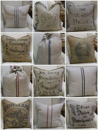 Q Were To Get Grain Sack French Linen Fabrics Crafts Reupholster
