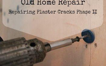 Repairing Plaster Cracks Phase II