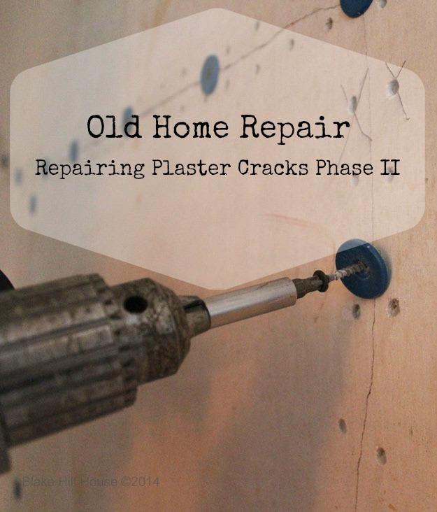 repairing plaster cracks, home maintenance repairs, how to