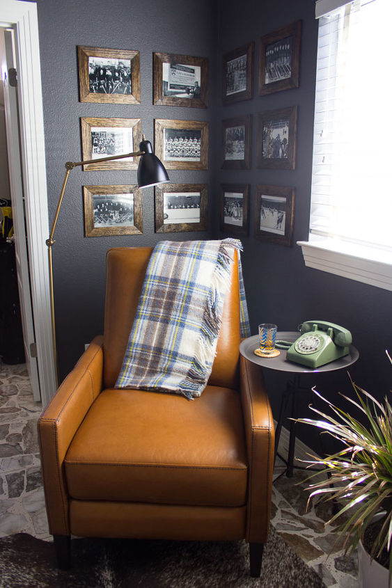 vintage industrial inspired man cave decor ideas, home decor, home improvement