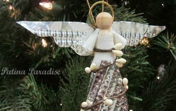 Homemade Christmas Angel Ornament