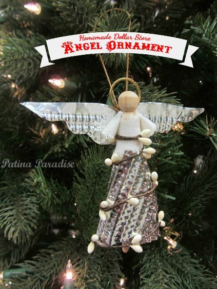 how to make a christmas angel ornament christmas decorations crafts seasonal holiday decor