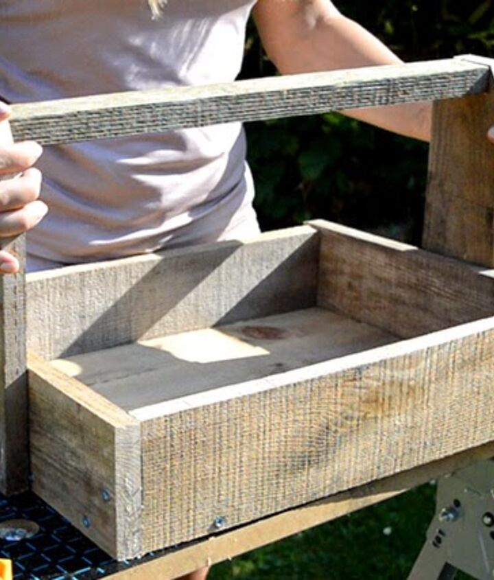 The completed trug