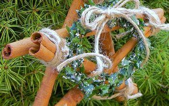 Cinnamon Stick Star Ornaments