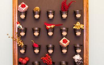 pottery barn advent calendar knock off, christmas decorations, crafts, seasonal holiday decor