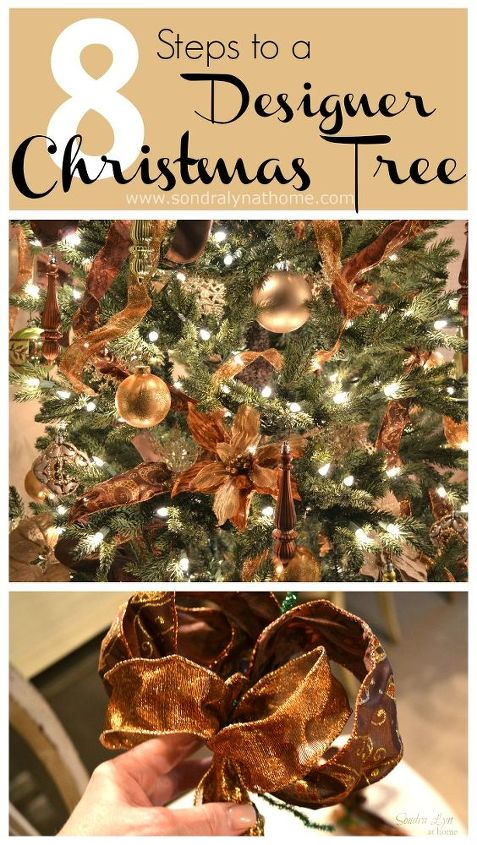 tips to create a designer christmas tree christmas decorations crafts seasonal holiday decor
