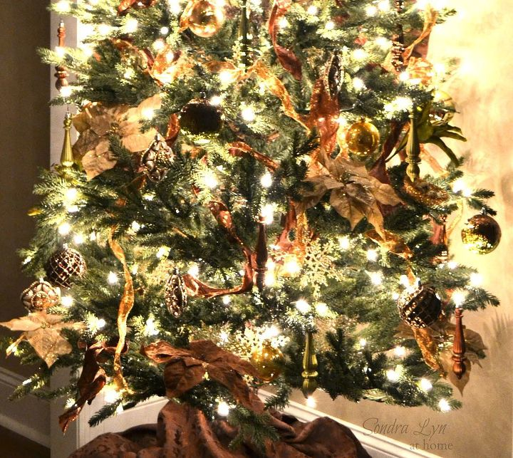 tips to create a designer christmas tree, christmas decorations, crafts, seasonal holiday decor