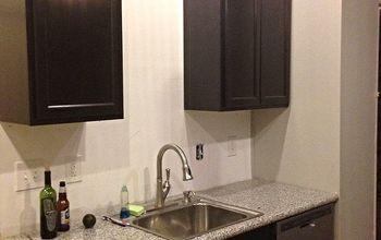 How We DIY'd Our Way to Real Granite Countertops