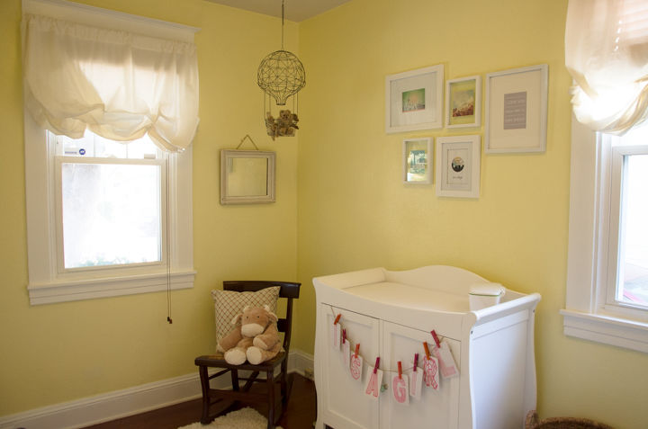 Decor Ideas For A Yellow Green Blue Nursery Bedroom Home Paint