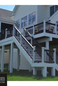 unique decks and deck design ideas, decks, outdoor living, Fairfax Deck