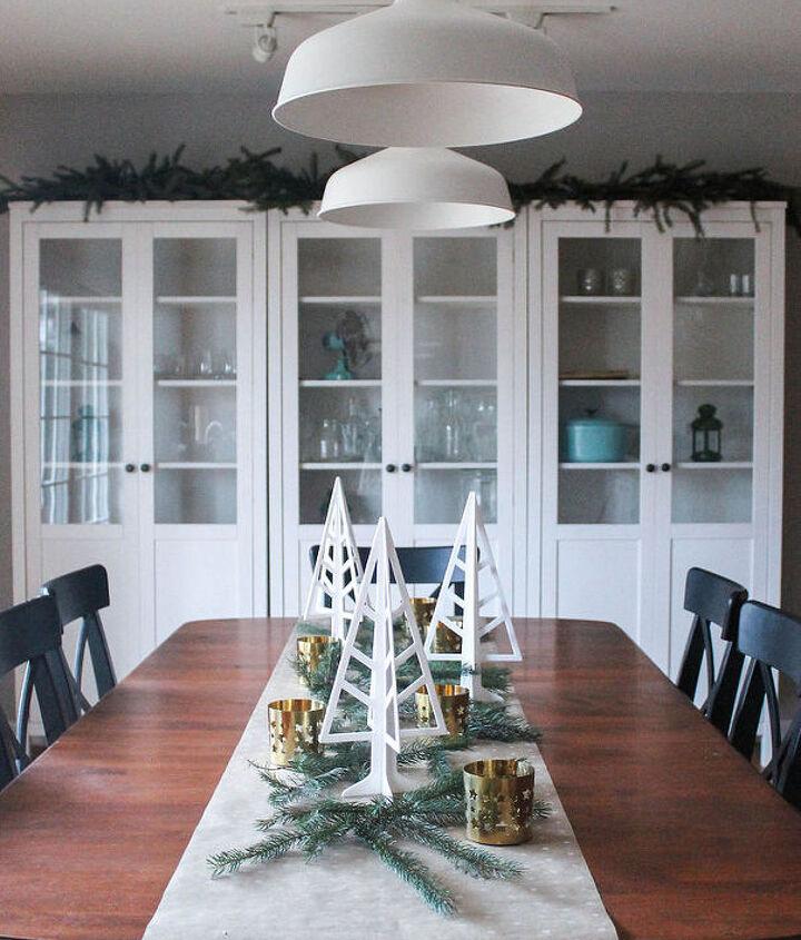 how to set up a holiday ready dining room, dining room ideas, seasonal holiday decor