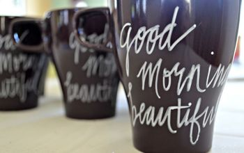 how to make painted mugs that will not wash away, crafts, how to