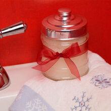 peppermint sugar scrub great for christmas gifts, diy, seasonal holiday decor