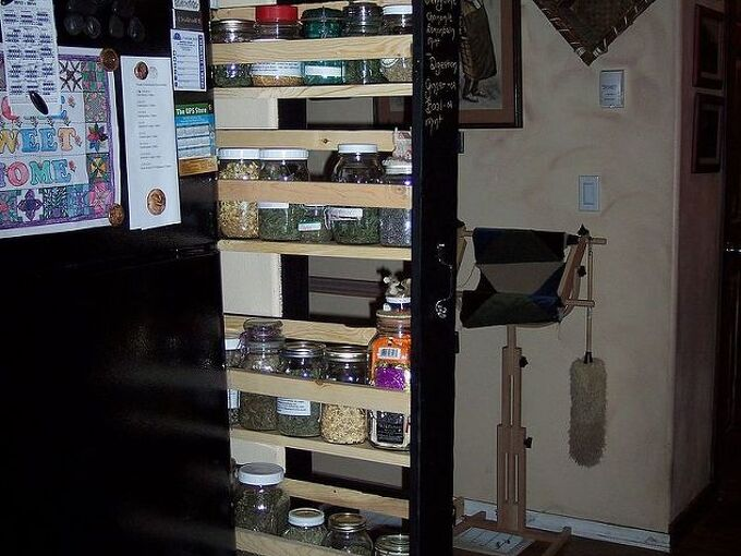 how to create your own spice and herb shelf, diy, kitchen cabinets, kitchen design, shelving ideas, woodworking projects