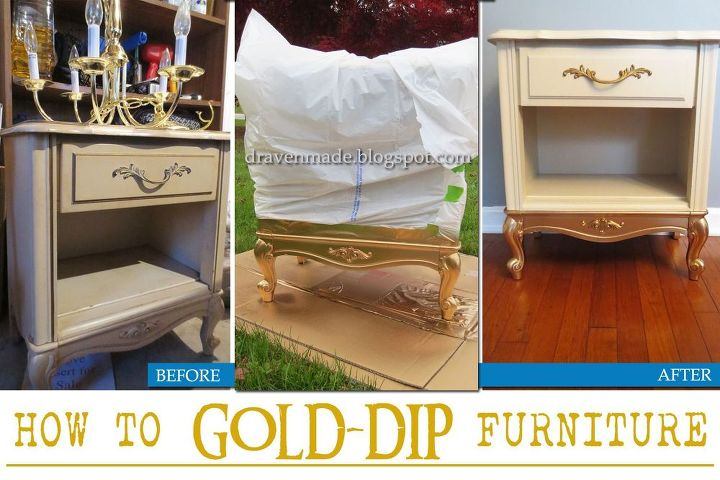 this simple update will give your furniture a high end look, diy, how to, painted furniture