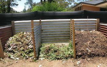 Corrugated Iron Compost Bay - Update - Progress So Far!