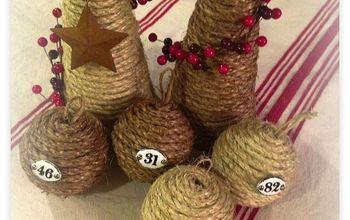 Inexpensive Sisal Christmas Ornaments