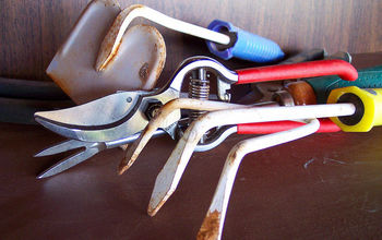 tips to prepare your garden tools for the winter, gardening, home maintenance repairs, tools
