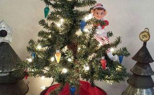 how to create a vintage tin tiny tree, christmas decorations, seasonal holiday decor