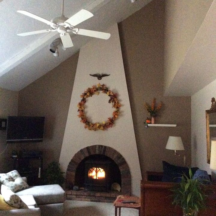 fireplace decor ideas for fall, fireplaces mantels, Overview