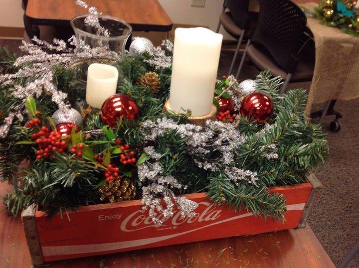 how to make rustic christmas centerpieces hometalk