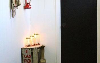 hallway transformation idea, diy, foyer, home decor, home improvement