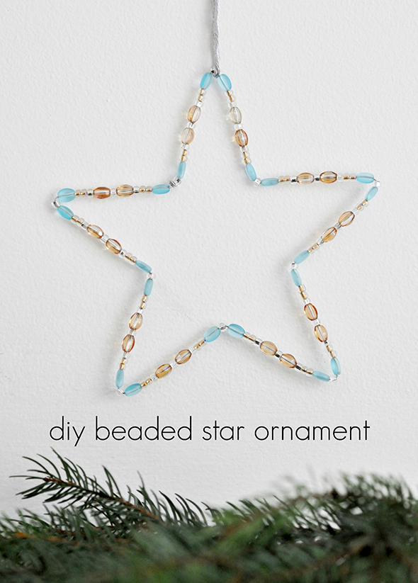 How To Make A Beaded Star Ornament Using Wire | Hometalk