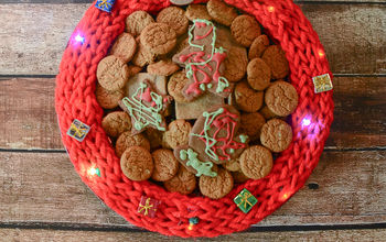 Ugly Christmas Sweater Cookie Serving Tray
