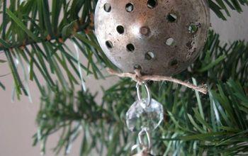 "Repurposed Salt Lid ""Star"" Christmas Ornament"