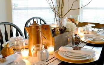 Handmade Thanksgiving Tablescape