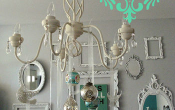 DIY Ornament Chandelier!