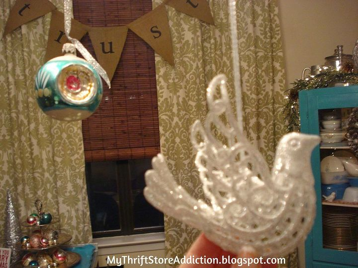 how to make an ornament chandelier, christmas decorations, lighting, seasonal holiday decor