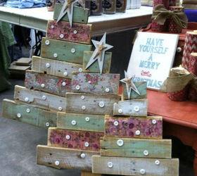 Pallet wood Christmas trees | Hometalk