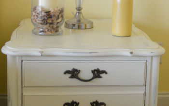 guest room nightstand project idea, chalk paint, painted furniture