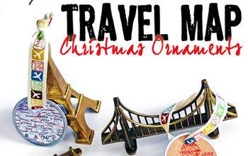 Travel Map Ornaments