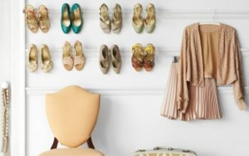 Experience with wall mounted shoe rack?
